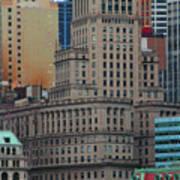 Skyline Of Manhattan - New York City Art Print