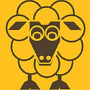 Sleep-sheep - Lonvig By Minymo Art Print