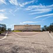 Slottet, The Royal Palace In Oslo, Norway Art Print
