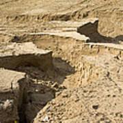 Soil Erosion Art Print