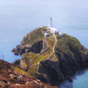 South Stack - Wales Art Print