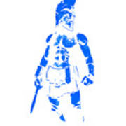 Spartan Hero Art Print