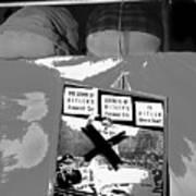 Spectators Circus Tent Auction Adolf Hitler's 1941 Mercedes Scottsdale Arizona 1973-2009 Art Print
