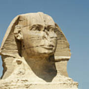 Sphinx At Gisa, Egypt Art Print