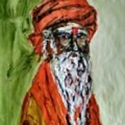 Spiritual Guru Art Print