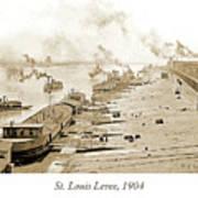 St. Louis Levee, 1904 Art Print