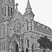 St. Mary Cathedral Art Print