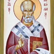 St Nicholas Of Myra Art Print