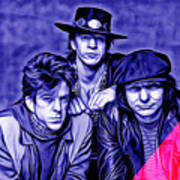 Stevie Ray Vaughan And Double Trouble Collection Art Print