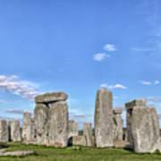 Stonehenge - England Art Print