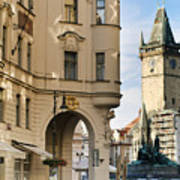 Streets Of Prague Art Print