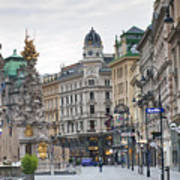 Streets Of Vienna Art Print