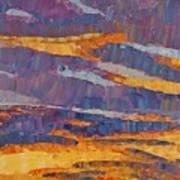 Sunset On Paseo Art Print