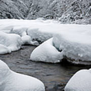 Swift River - White Mountains New Hampshire Usa Art Print
