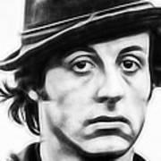 Sylvester Stallone Collection Art Print