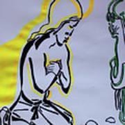 Temptation Of Jesus Art Print