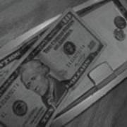 2 Tens 1 Dime 1 Penny  2011  Art Print