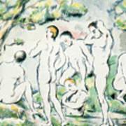 The Bathers Art Print