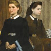 The Bellelli Sisters Art Print