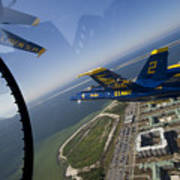 the Blue Angels Art Print