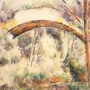 The Bridge Of Trois - Sautets Art Print