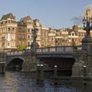 The Bridges Of Amsterdam Art Print