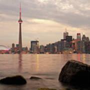 The City Of Toronto Art Print