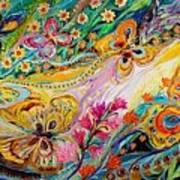 The Dance Of Butterflies Art Print