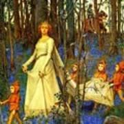 The Fairy Wood Henry Meynell Rheam Art Print