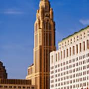 The Leveque Tower Of Columbus Ohio Art Print