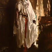 The Moorish Chief Art Print