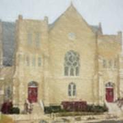 The Old Church Art Print