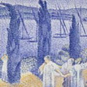 The Promenade Art Print