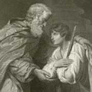 The Return Of The Prodigal Son Art Print