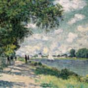 The Seine At Argenteuil Art Print