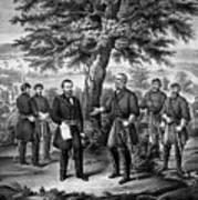 The Surrender Of General Lee Art Print
