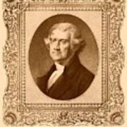 Thomas Jefferson Art Print by War Is Hell Store