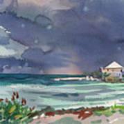 Thunderstorm Over Key West Art Print