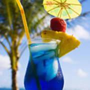 Tropical Cocktail Art Print