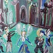Tudor Fairies Art Print