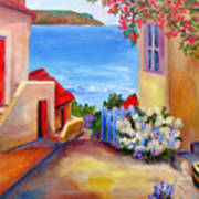 Tuscany Village  Art Print