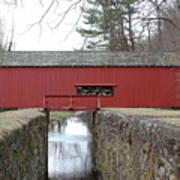 Uhlerstown Covered Bridge Art Print