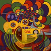 Under Surveillance Art Print