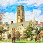 University Hall Art Print