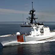 U.s. Coast Guard Cutter Waesche Art Print