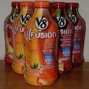 V8 Fusion Art Print