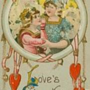 Valentine Design Six Art Print