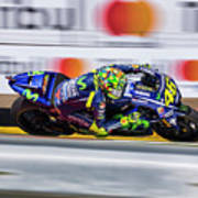 Valentino Rossi The Doctor  Art Print