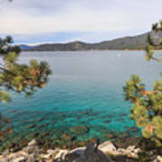 View Across Lake Tahoe Art Print
