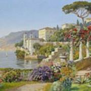 View Of A Lake In The South Art Print